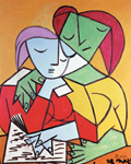 Dos mujeres, Pablo Picasso